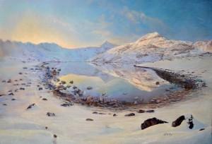 Llyn Llydaw and the Snowdon Horseshoe